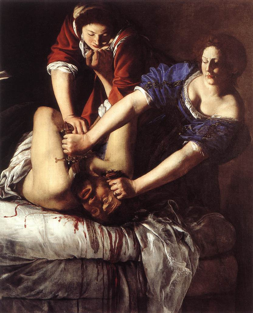  Artemisia Gentileschi Judith