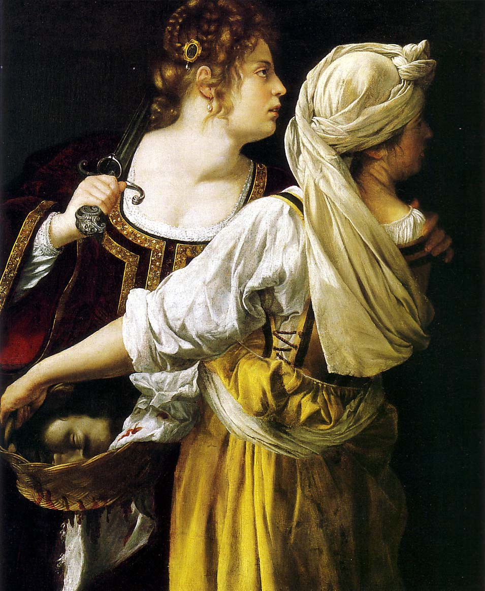  Gentileschi Judith Maidservant