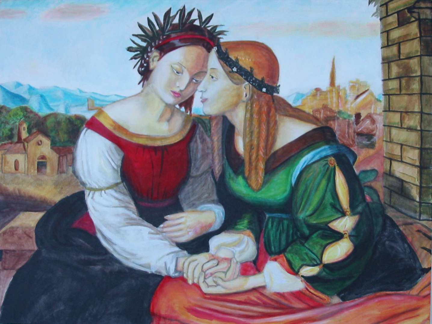 famous lesbian art