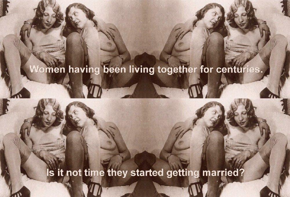 ... sex symbols and homophobia. Below: Victoria Van Dyke - Marriage - 2007.